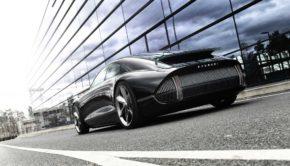 Hyundai Prophesy rear