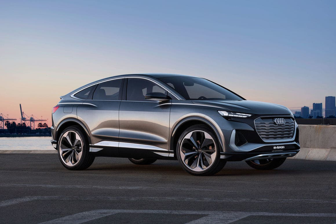 Audi Plans 2022 Q4 E Tron Sportback With 100 Kwh Battery And 600 Km Range
