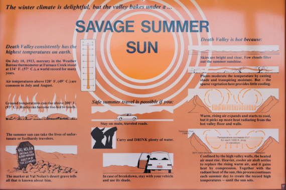 Savage Sun Death Valley