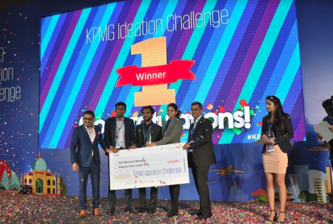 KPMG Ideation Challenge winners!