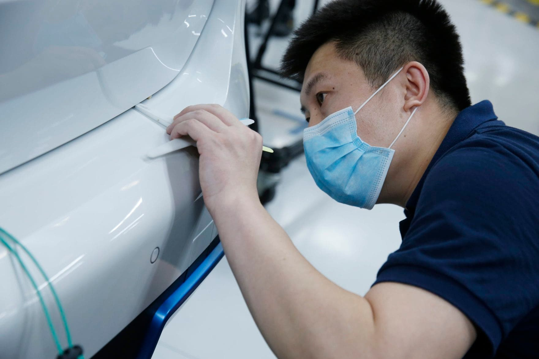 BMW iX3 electric SUV China production jobs