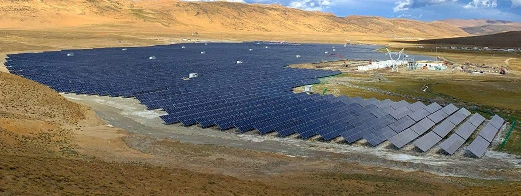 solar and storage in Tibet