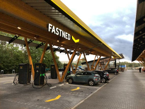 Tesla & Fastned Join Forces To Build Germany's Largest Fast Charging Station