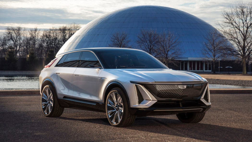 Cadillac Lyriq electric car