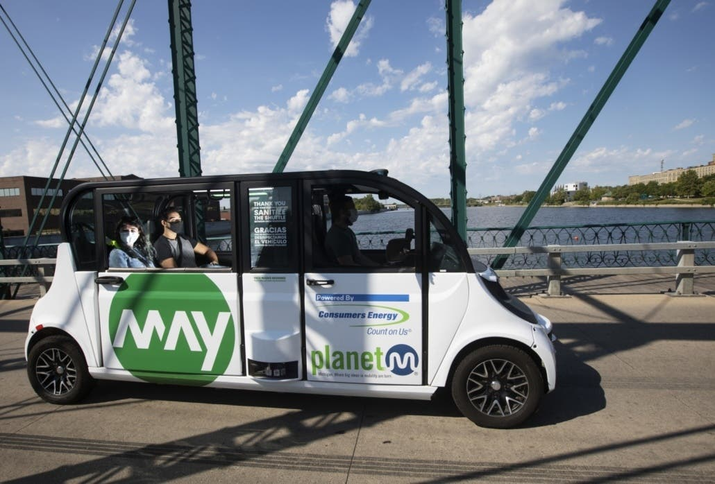 May Mobility Shuttle