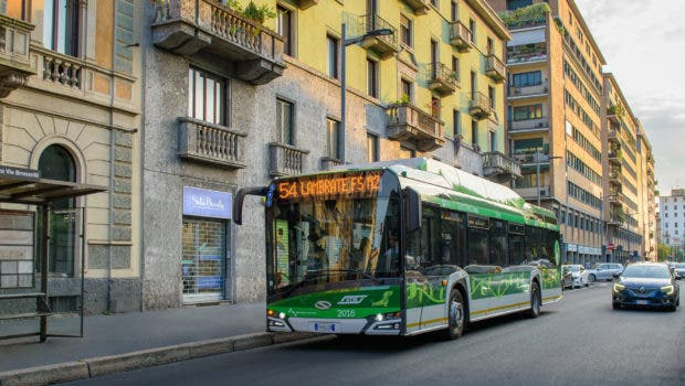 photo of Milan Getting Another 100 Electric Buses image
