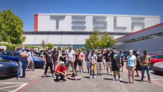 photo of Tesla Toys for Tots, Anti–Human Trafficking Parade, & Supercharger Meetup image