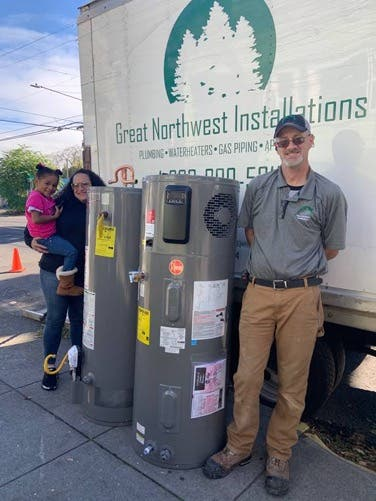 Helping Families, One Electric Heat Pump Water Heater At A Time