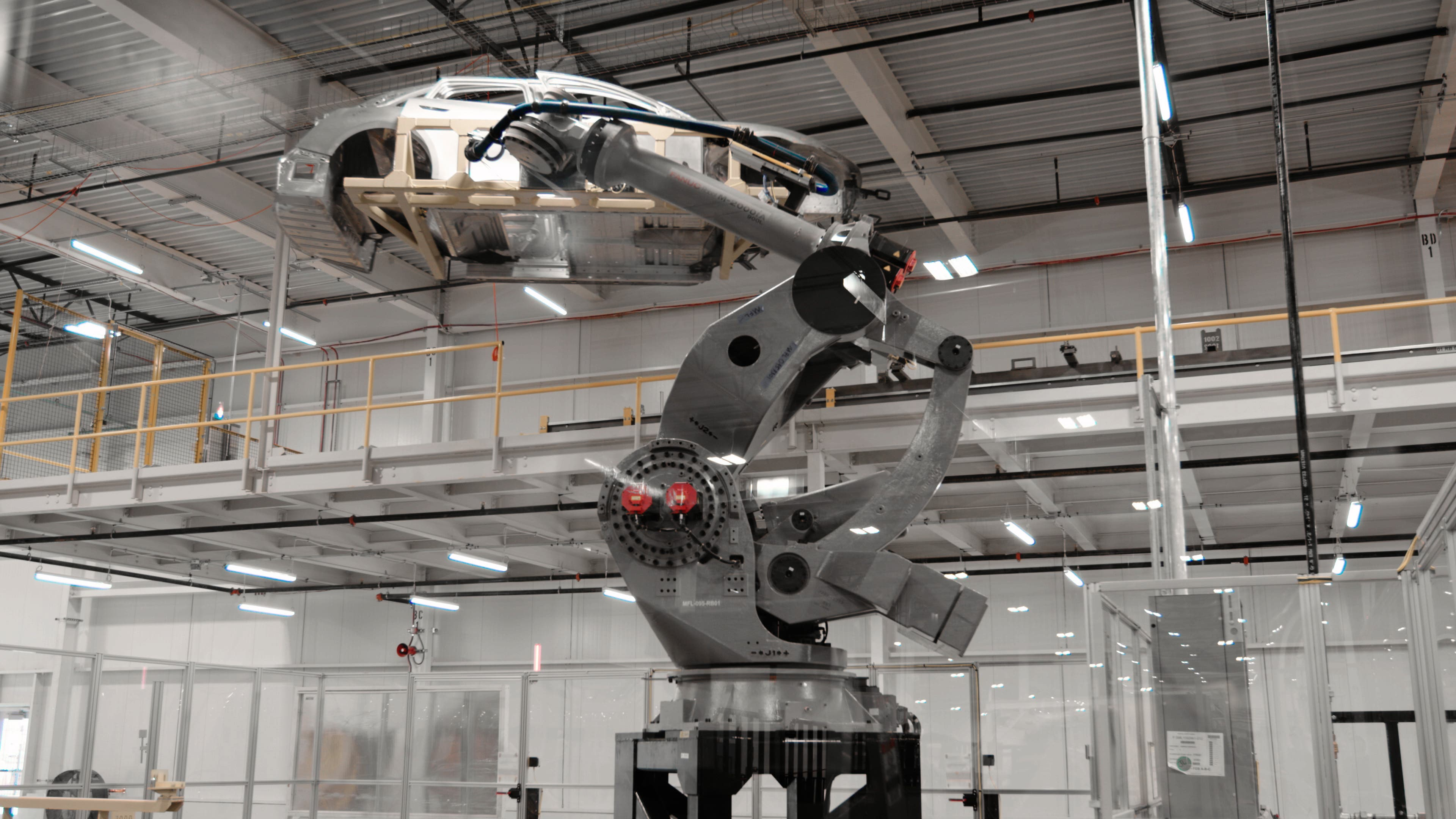 Lucid Motors-Casa Grande factory robot
