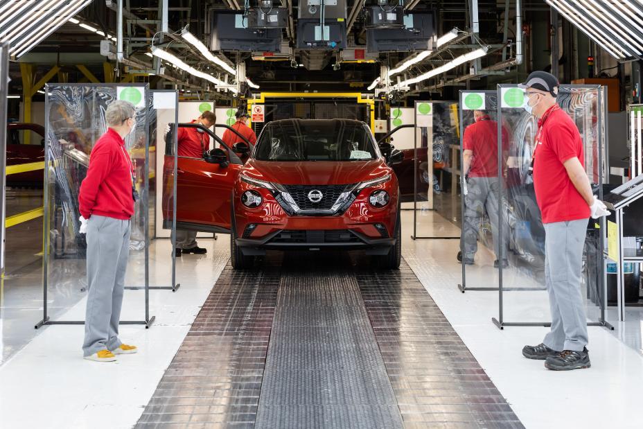 Nissan factory in Sunderland UK