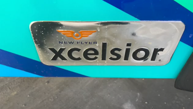 New Flyer Xcelsior electric bus