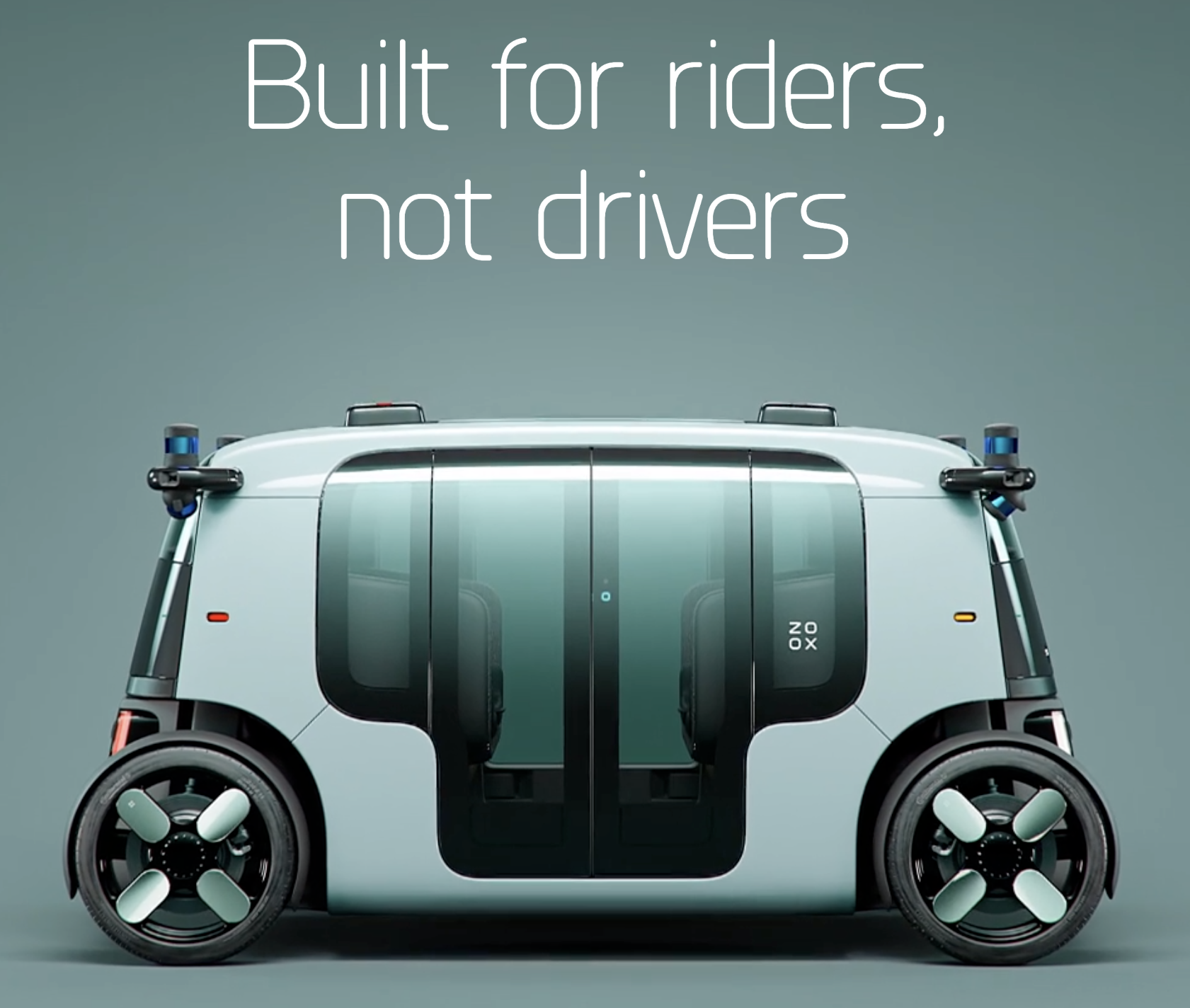 Zoox first fully functional, electric, autonomous vehicle