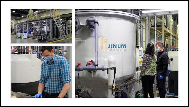 Standard Lithium Scores Points With Proof-of-Concept Lithium Extraction & Crystallization Tech