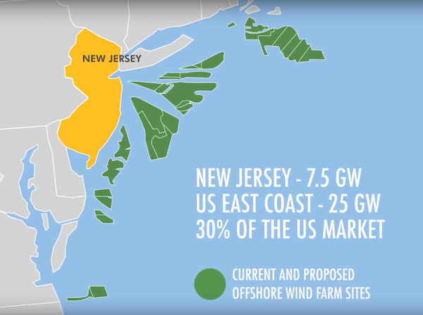 offshore wind farms New Jersey