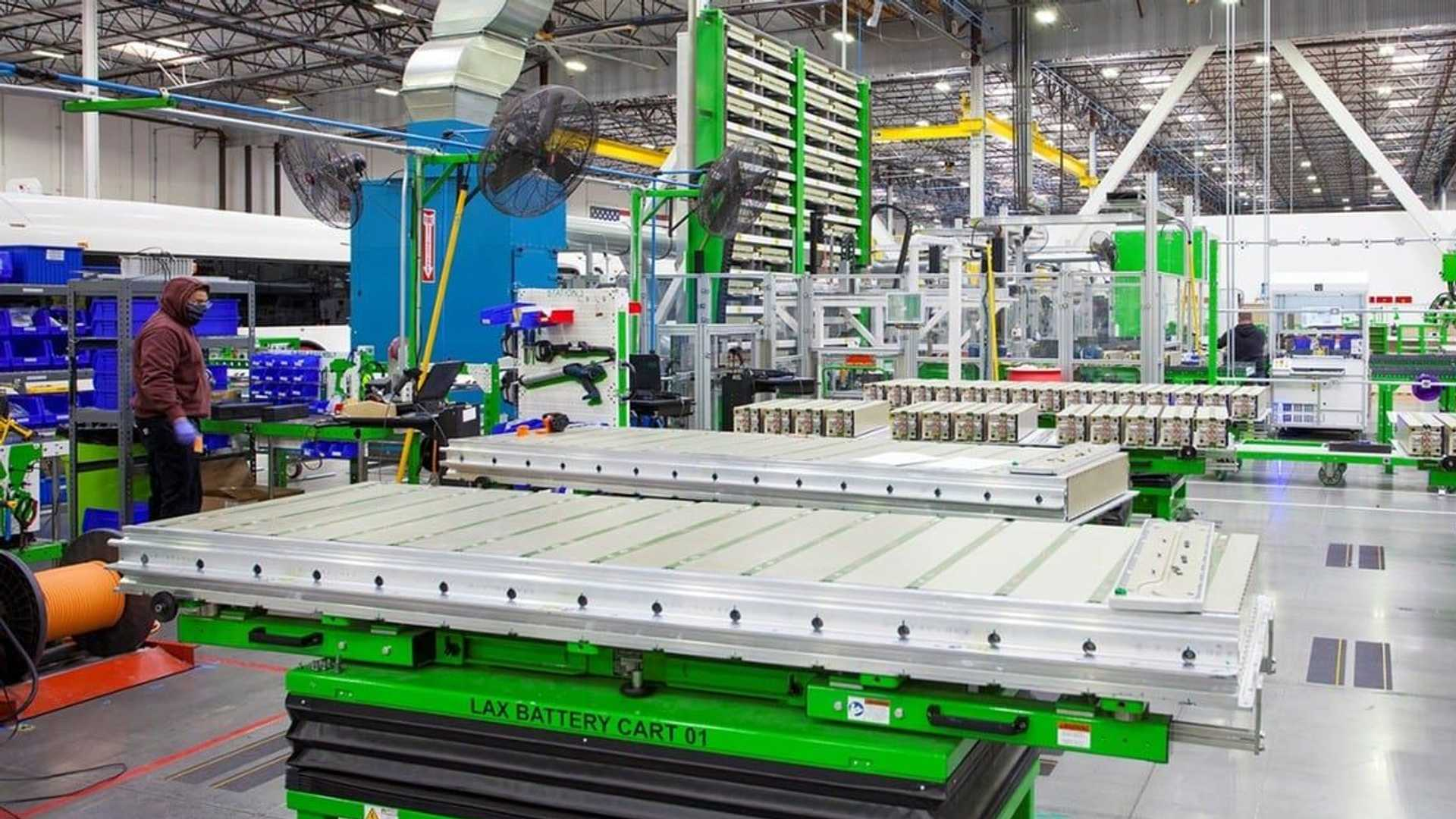 Proterra battery manufacturing