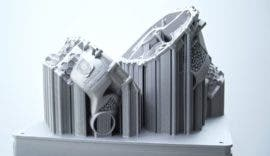 3D-printed EV gearbox components