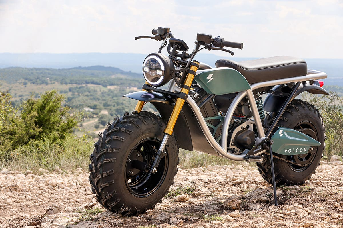 Volcon Grunt off-road electric motorcycle