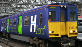 hydrogen fuel cell train Scotland