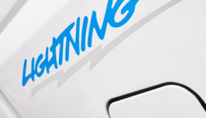 2022 Ford Lightning Electric Pickup Logo