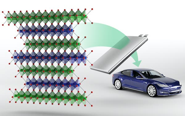 electric vehicle battery no cobalt