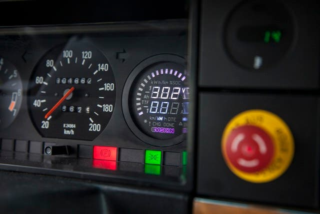 Volvo EV conversion