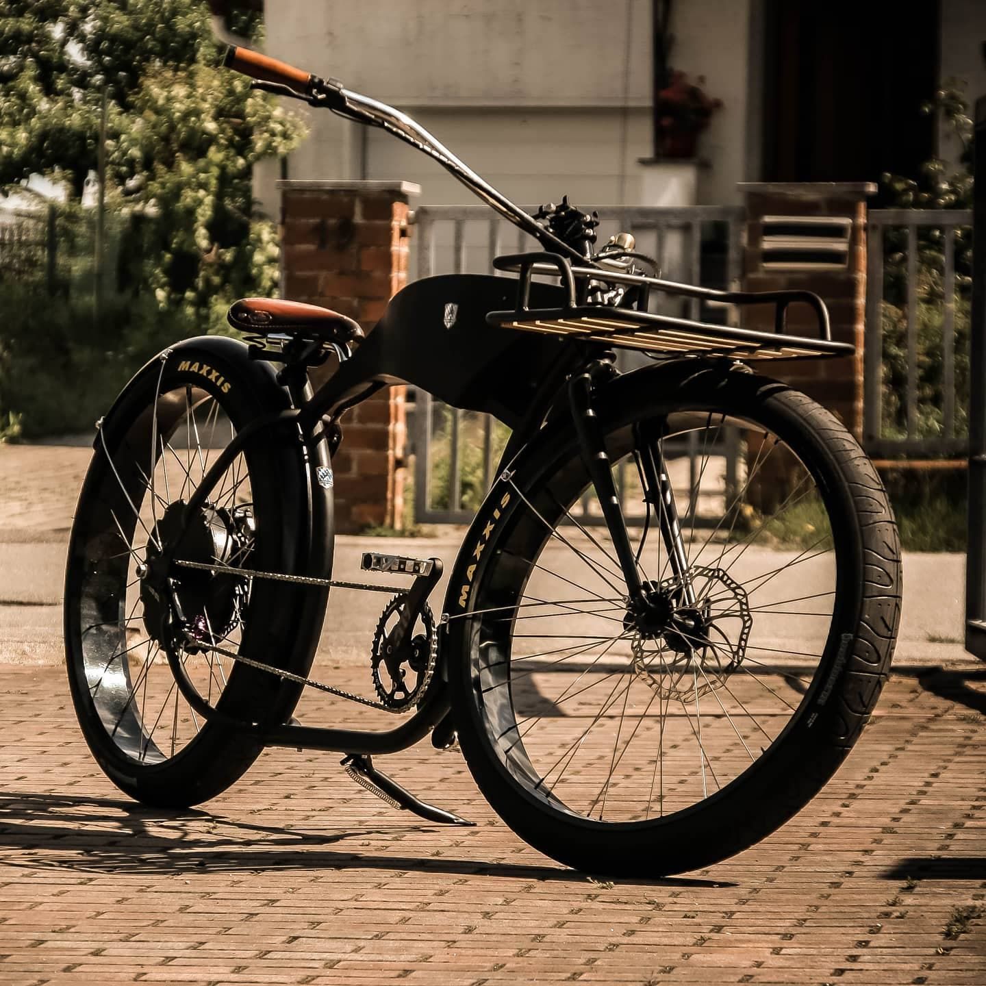 """Panther"" courtesy Bavarian Electric Cycles."