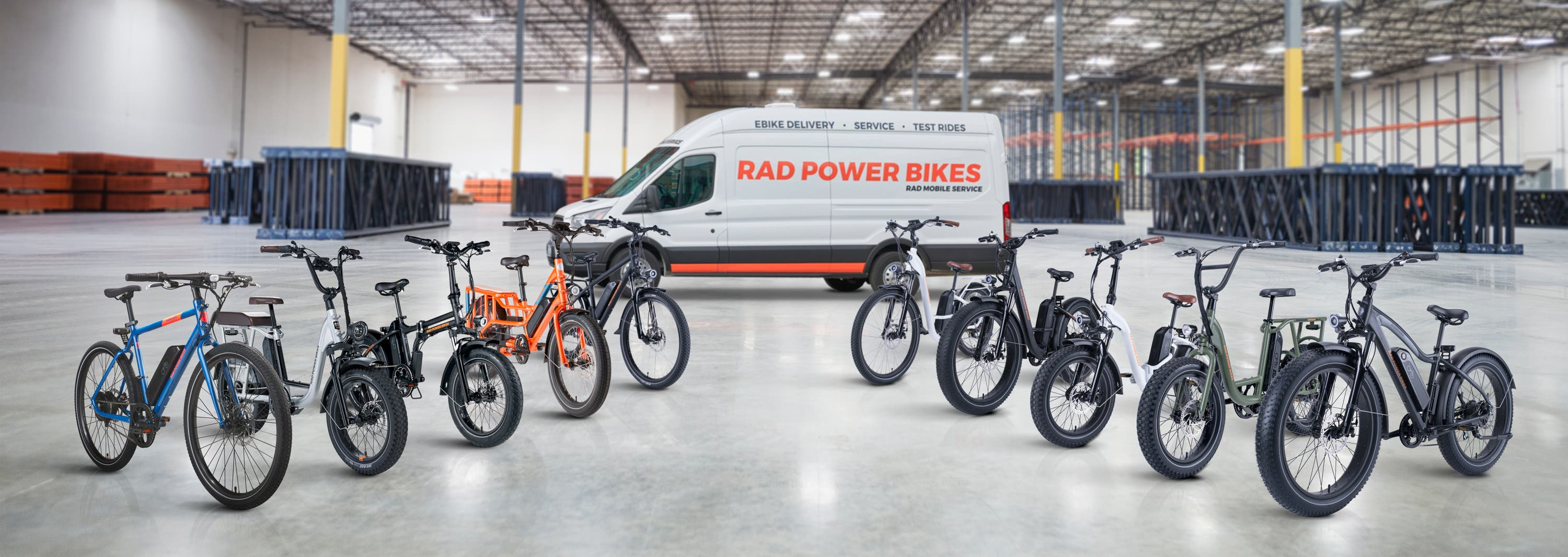 Rad Power Bikes lineup