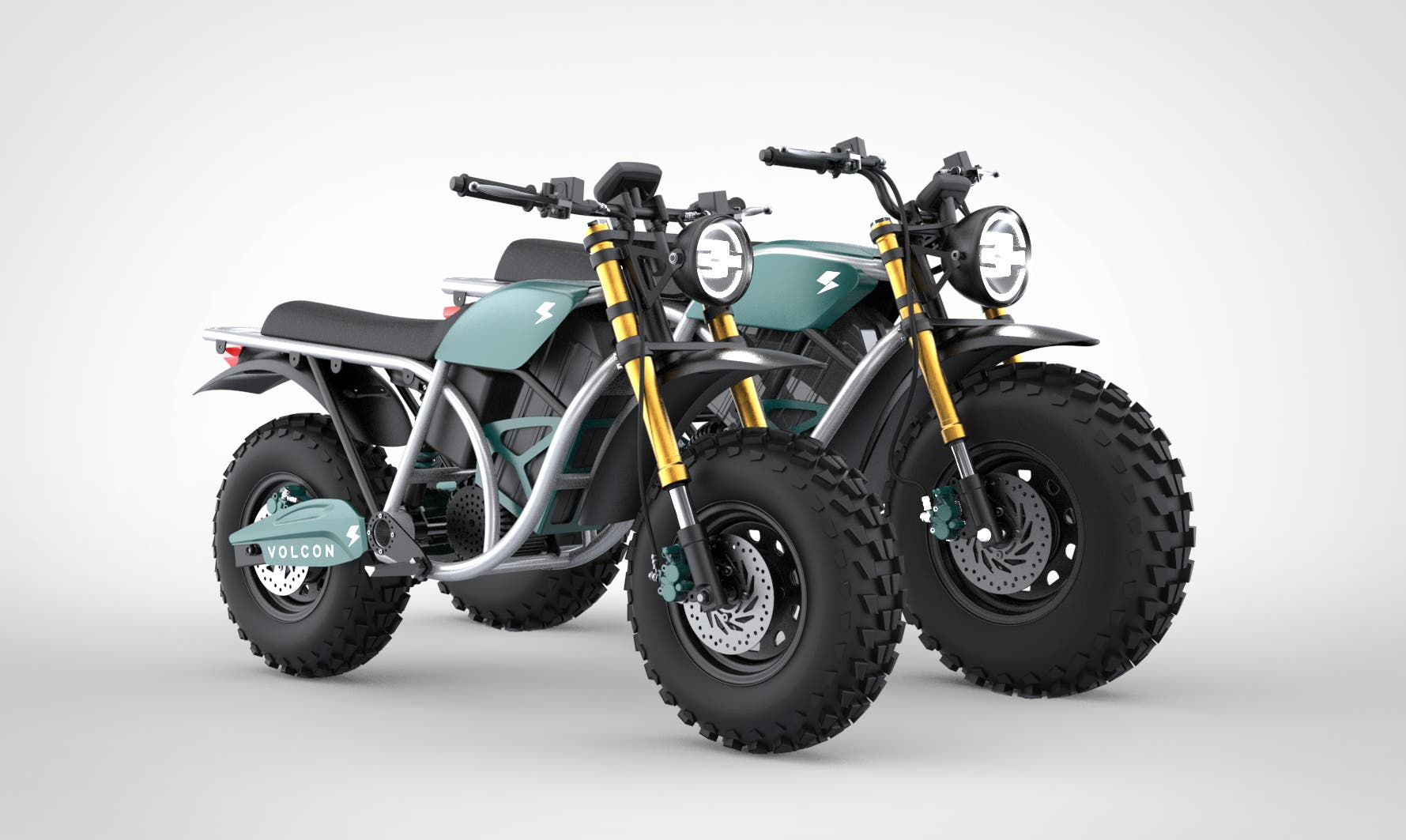 Volcon Runt kids off-road electric motorcycle