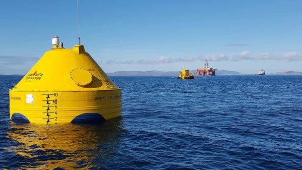 wind turbine wave energy Ireland