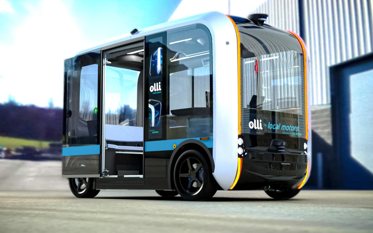 Autonomous Electric Vehicle Olli Now on Roads in Knox County, Tennessee