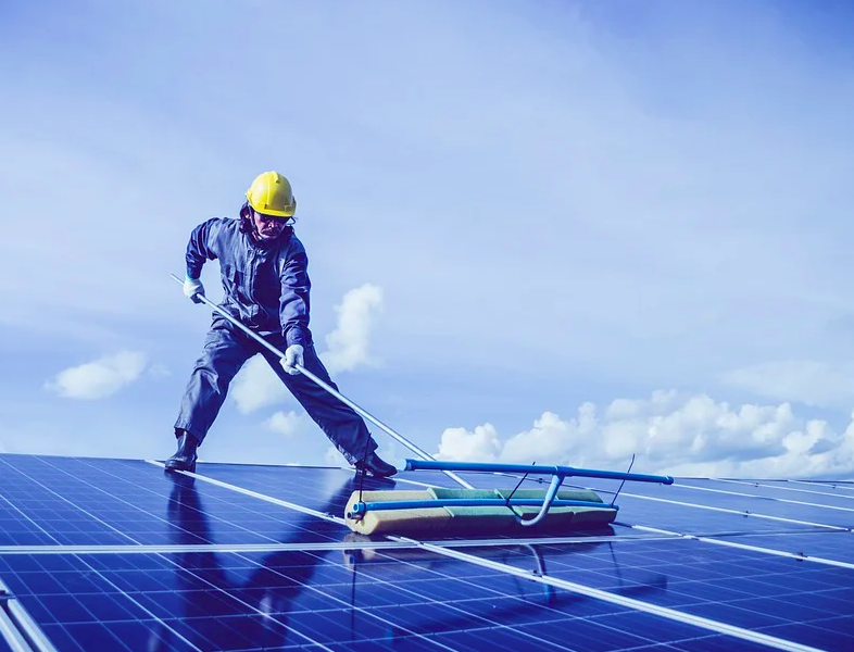 photo of Do Solar Panels Need Cleaning & Maintenance? The What, How, How Often, When, & Why image