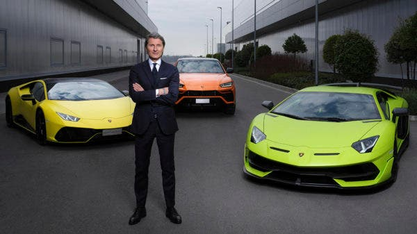 Stephan Winkelmann, Chairman and CEO of Automobili Lamborghini
