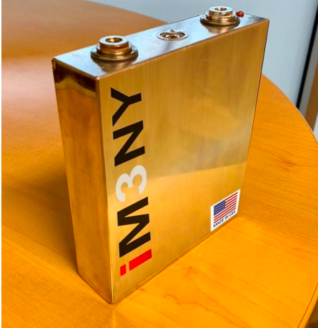 1st Lithium-ion Battery Dry Cells Produced from New York Battery Plant