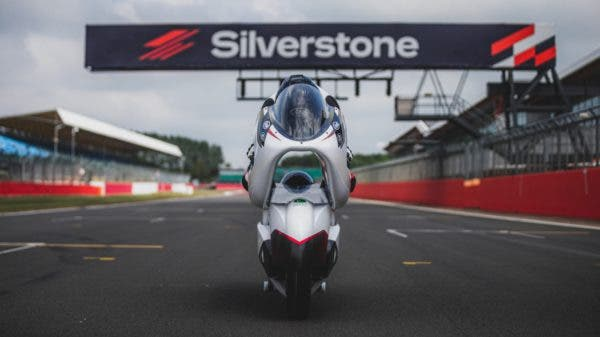 White Engineering LSR Electric Motorcycle