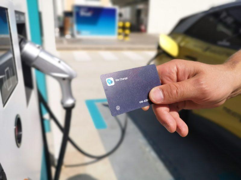 We Charge Fast Charging Volkswagen ID.4 on European road trip