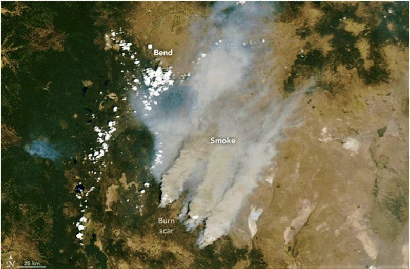 photo of Extreme Heat Sets Records & Sets Stage For More Fires In U.S. West image