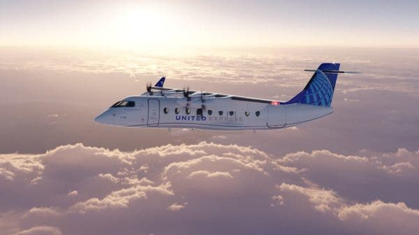 electric airplanes aircraft zero emission United Airlines