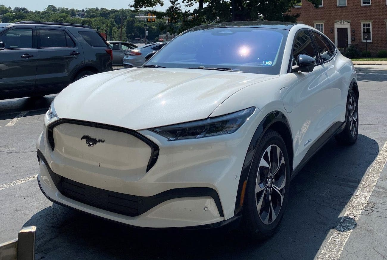 Ford Mustang Mach-E all electric SUV
