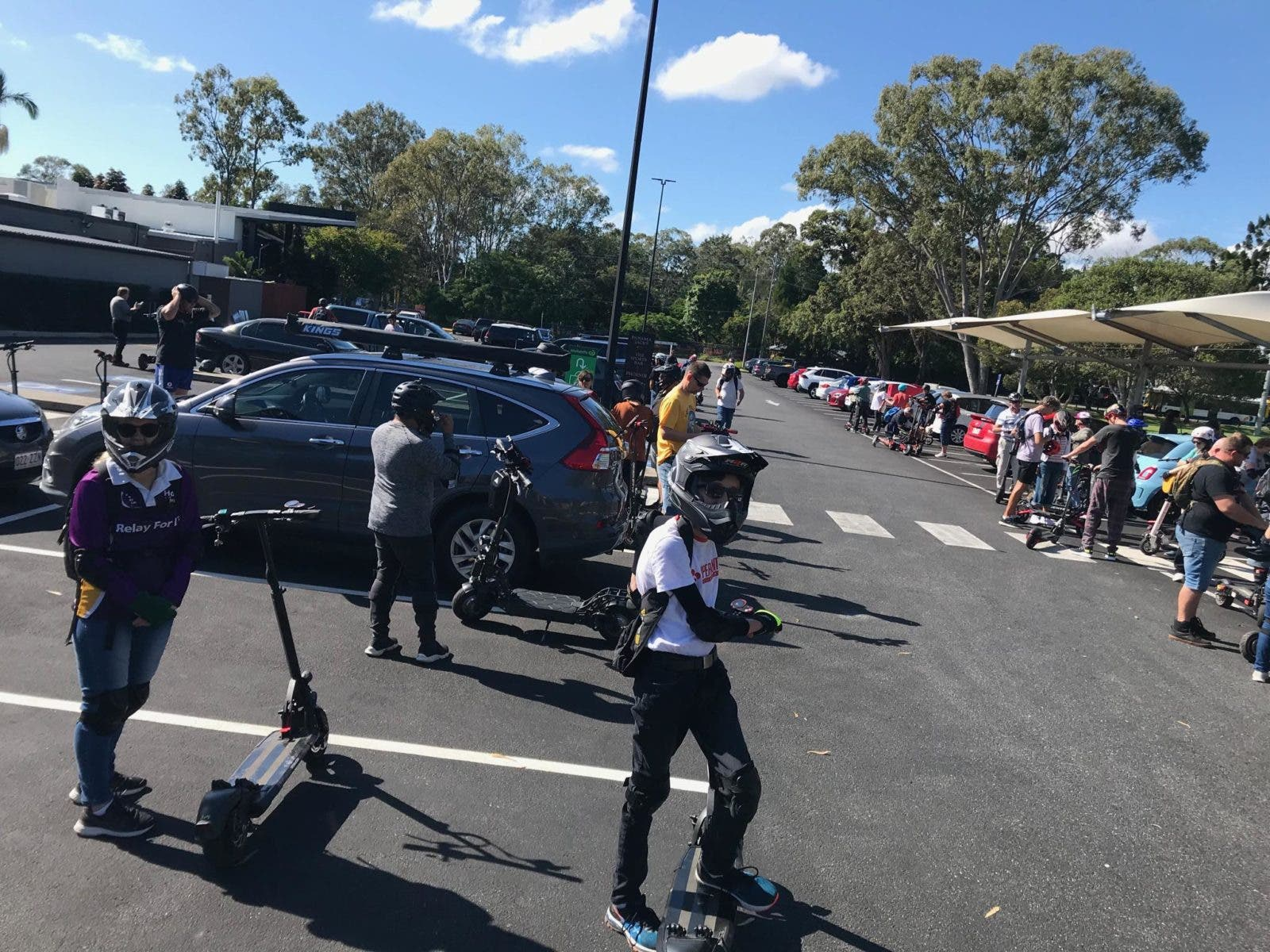 Scooters meetup in Australia