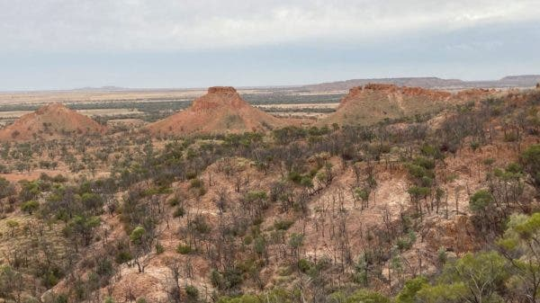 Three Sisters of the outback in Carisbrooke, Australia