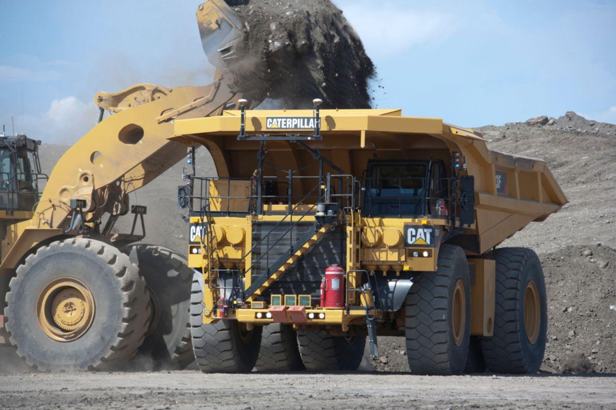 electric mining trucks Caterpillar