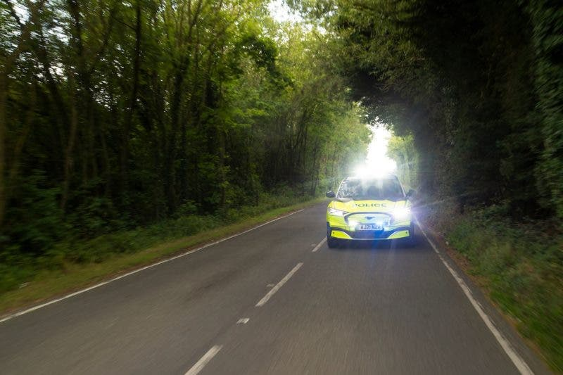 photo of Ford Mustang Mach-E Police Car Now An Option In UK image