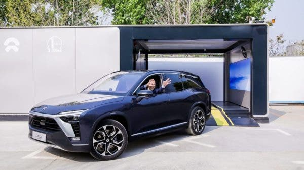 NIO Battery Swapping Station Sinopec