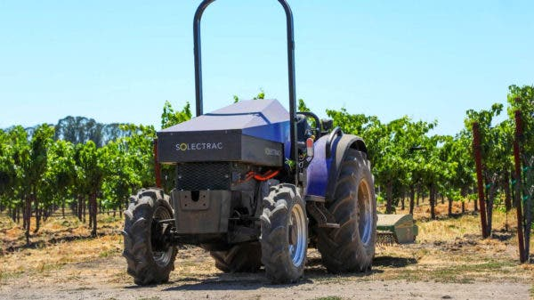 Solectrac electric tractor