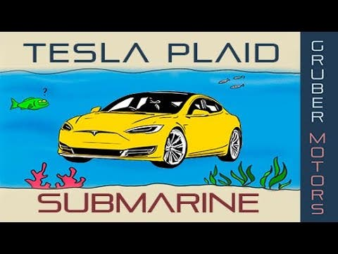 Is A Tesla Model S Plaid Fully Submersible? (VIDEO) | CleanTechnica